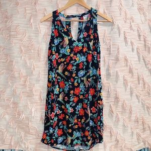 Old Navy Small Tropical Pattern Sleeveless Dress